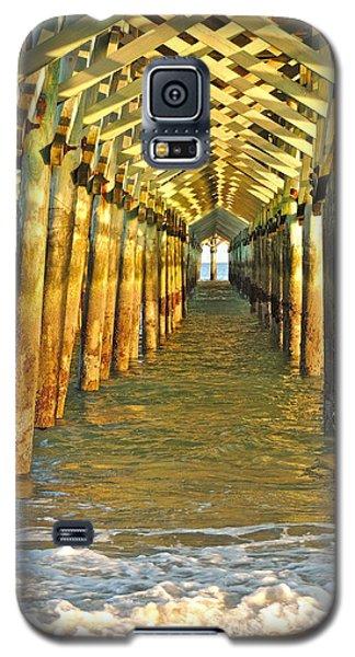 Under The Boardwalk Galaxy S5 Case by Eve Spring