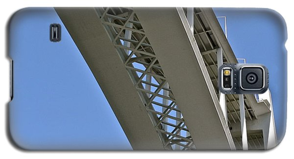 Galaxy S5 Case featuring the photograph Underside Of Beautiful Bridge by Kirsten Giving