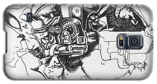 Untitled 9 Galaxy S5 Case by Mack Galixtar