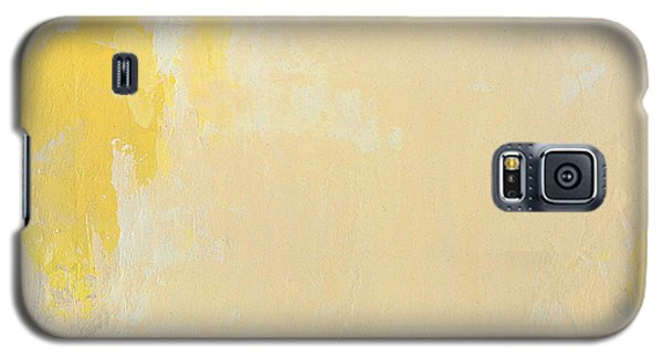 Untitled Abstract - Bisque With Yellow Galaxy S5 Case