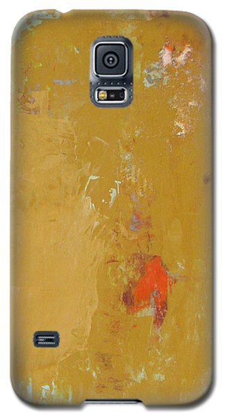 Untitled Abstract - Ochre Cinnabar Galaxy S5 Case