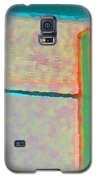 Galaxy S5 Case featuring the digital art Up And Over by Richard Laeton