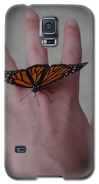 Upon My Hand Galaxy S5 Case by Julia Wilcox