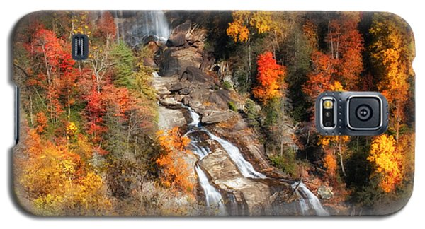 Galaxy S5 Case featuring the photograph Upper Whitewater Falls by Lynne Jenkins