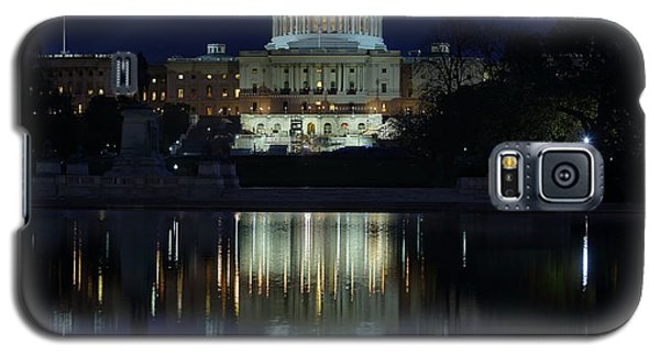 Us Capitol - Pre-dawn Getting Ready Galaxy S5 Case