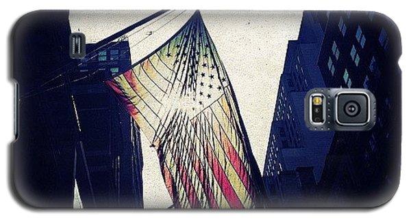 Patriotic Galaxy S5 Case - Us Flag by Natasha Marco