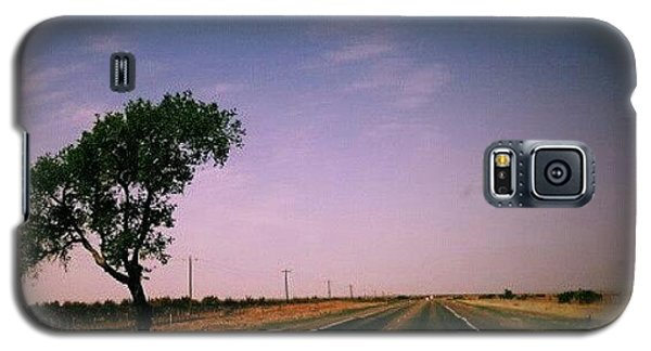 Follow Galaxy S5 Case - #usa #america #road #tree #sky by Torbjorn Schei