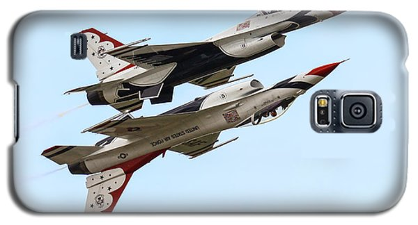 Usaf Thunderbirds Display Pair Galaxy S5 Case by Ken Brannen