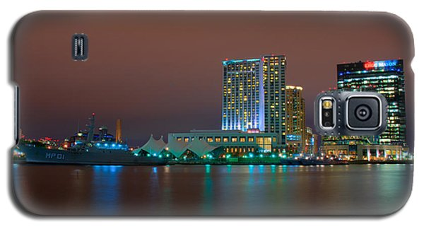 Uscgc Eagle And Inner Harbor East Galaxy S5 Case