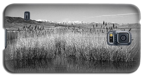 Utah Lake And Wasatch Mountains Galaxy S5 Case by Tracie Kaska