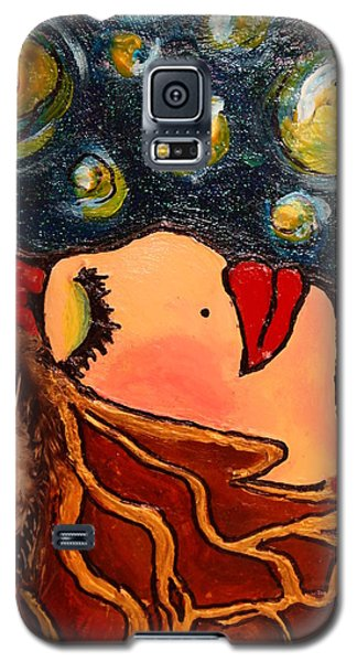 Vangogh Dreams Cropped Version Galaxy S5 Case by Laura  Grisham