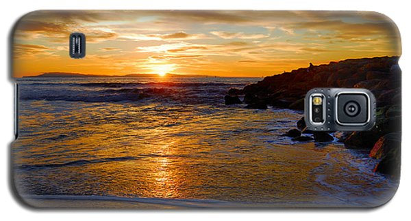 Ventura Beach Sunset Galaxy S5 Case by Lynn Bauer