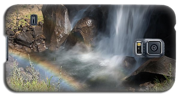 Vernal Falls Rainbow On Mist Trail Yosemite Np Galaxy S5 Case