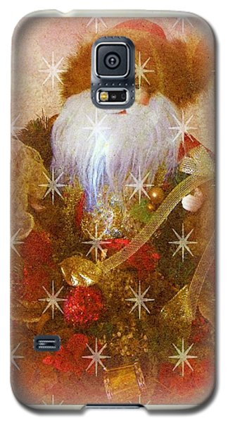 Galaxy S5 Case featuring the photograph Victorian Santa by Michelle Frizzell-Thompson