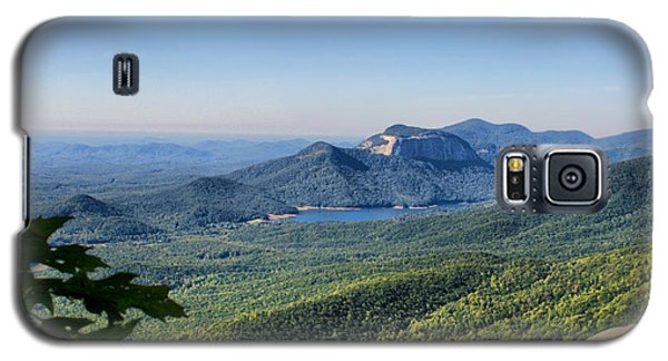 Galaxy S5 Case featuring the photograph View From Caesar's Head by Lynne Jenkins