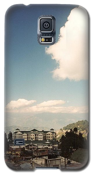 Galaxy S5 Case featuring the photograph View From The Window by Fotosas Photography