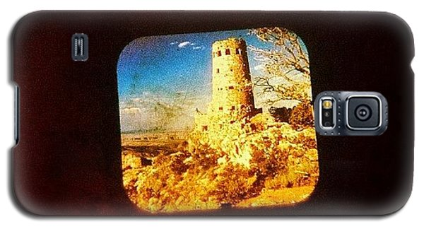 Universities Galaxy S5 Case - View-master Grand Canyon Watchtower by Natasha Marco