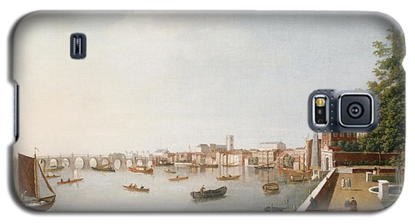 View Of The River Thames From The Adelphi Terrace  Galaxy S5 Case by William James