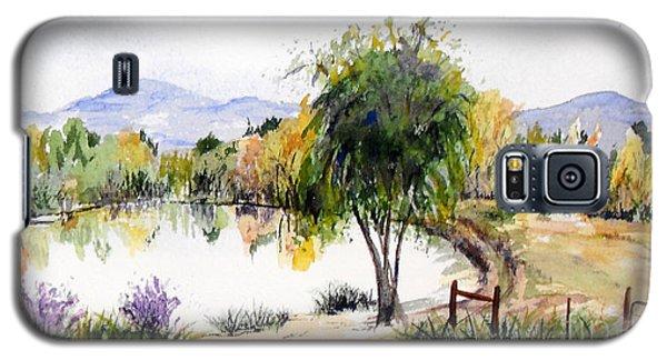 View Outside Reno Galaxy S5 Case by Vicki  Housel