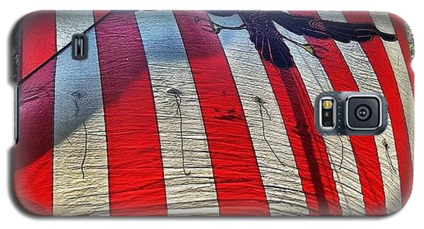 Patriotic Galaxy S5 Case - Viking Flag @ Syttende Mai by Natasha Marco
