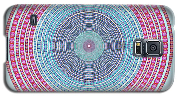 Vintage Color Circle Galaxy S5 Case