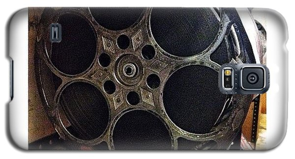 Movie Galaxy S5 Case - Vintage Film Reel by Natasha Marco