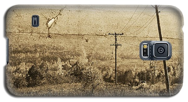 Vintage View Of Ontario Fields Galaxy S5 Case by Traci Cottingham