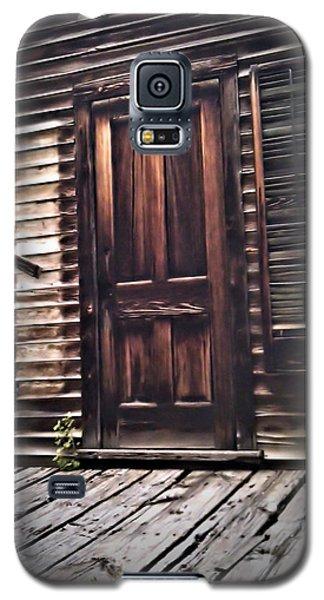 Virginia City Ghost Town Door I Galaxy S5 Case