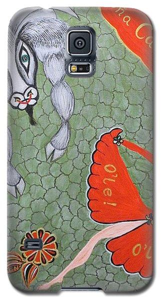 Viva Dona Carmen Galaxy S5 Case by Marie Schwarzer