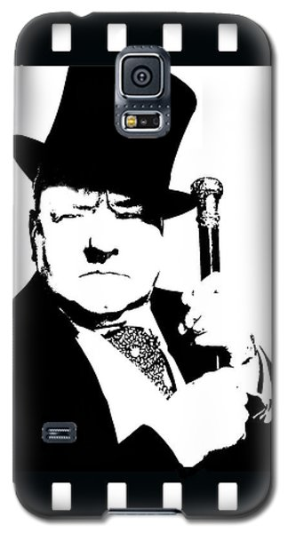 Galaxy S5 Case featuring the painting W. C. Fields by Jann Paxton