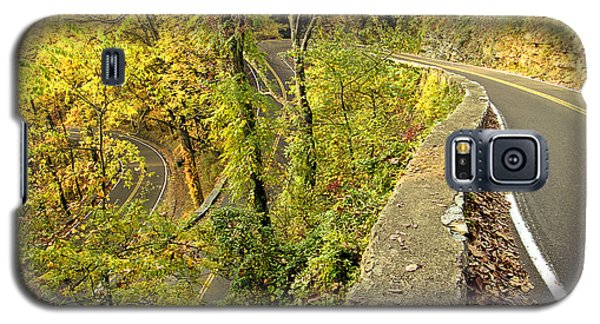 W Road In Autumn Galaxy S5 Case