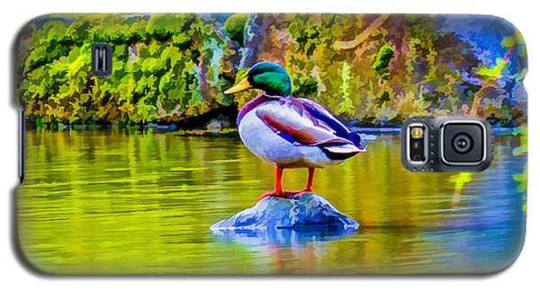 Galaxy S5 Case featuring the photograph Waiting For Mrs Drake by Ken Stanback