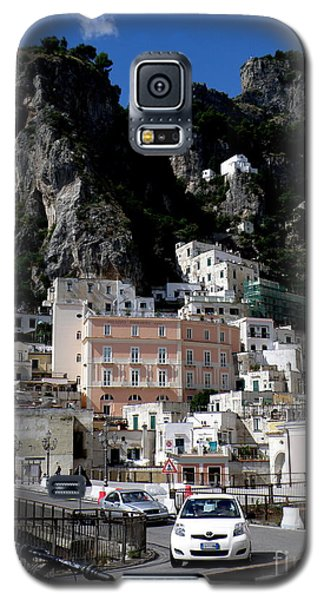 Galaxy S5 Case featuring the photograph Walking Along The Amalfi Coast  3 by Tanya  Searcy