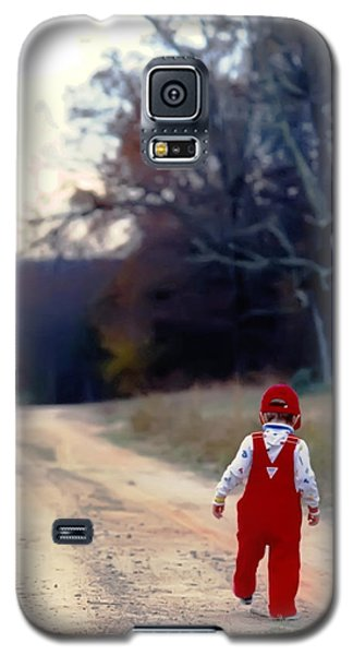 Walking On Pawpaw's Road Galaxy S5 Case