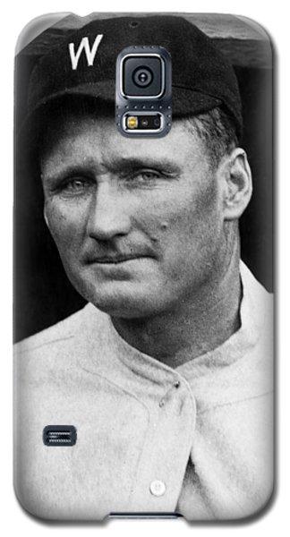Galaxy S5 Case featuring the photograph Walter Johnson - Washington Senators Baseball Player by International  Images