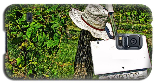 Galaxy S5 Case featuring the photograph Walt's Hat by William Fields
