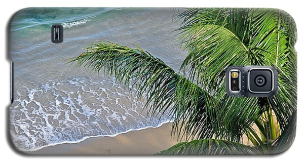 Galaxy S5 Case featuring the photograph Warm Maui Waters Lapping Ashore by Kirsten Giving