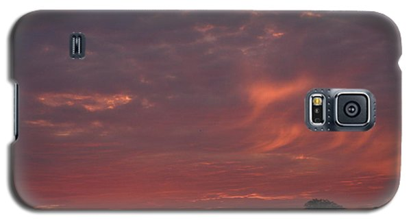 Warwickshire Sunset Galaxy S5 Case by Linsey Williams