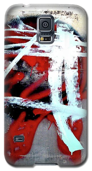 Galaxy S5 Case featuring the photograph Was Here by Newel Hunter