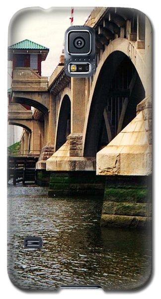 Washington Bridge Galaxy S5 Case by John Scates
