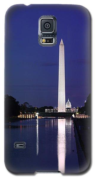 Washington Monument At Sunset Galaxy S5 Case