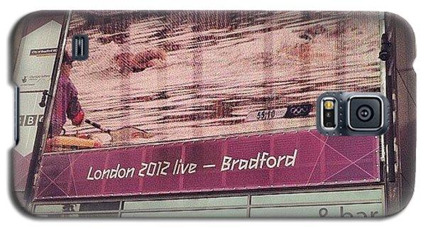 Watching #london2012 In #bradford - Na Galaxy S5 Case by Maciej 😂 Liziniewicz