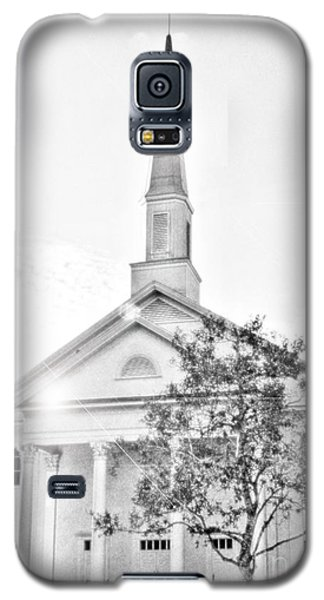 Galaxy S5 Case featuring the photograph Watching Over by Janie Johnson