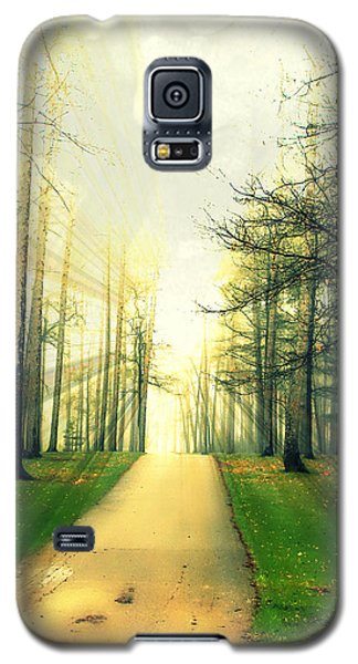 Galaxy S5 Case featuring the photograph Watching Over Us by Mark J Seefeldt