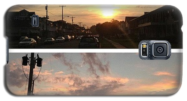 Workout Galaxy S5 Case - Watching The #sunset In #belmar After by Johnny Kucera