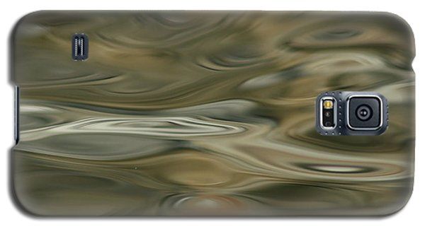 Galaxy S5 Case featuring the photograph Water And Rocks  by Cathie Douglas