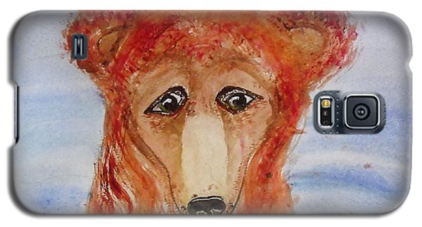 Galaxy S5 Case featuring the painting Water Bear by Carol Duarte