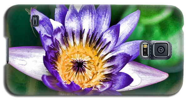 Water Color Lily Galaxy S5 Case