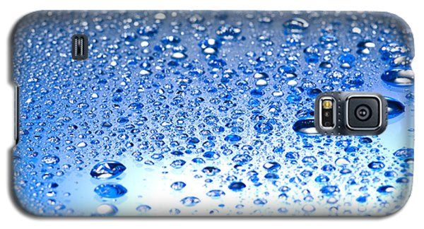 Water Drops On A Shiny Surface Galaxy S5 Case