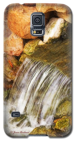 Galaxy S5 Case featuring the photograph Water Fall by Joan Bertucci